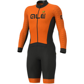 Alé Cycling PR-S Fuga DWR Ciclocross Tuta Uomo, fluo orange/masai red